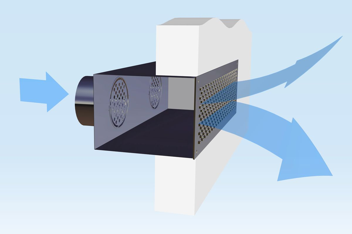 Diffusori Lineari Aria Condizionata sistemi per la diffusione dell'aria ltg – dislocatori e